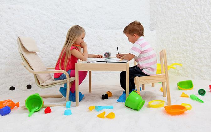 Kinderen en Halotherapie